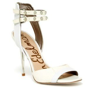 Sam Edelman Women's Ayda Snow White Sandals 9